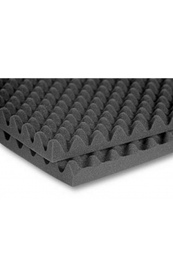 "2SONO24CHA - 2"" SonoMatt Acoustic Foam Panels (12-pack, 2'x4'x2"", Charcoal)"
