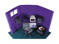 "MAX831PUR - MAX-Wall Series Portable Acoustric Treatment w/Window (8 - 20""x48"" panels, Purple)"