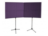 "MAX420PUR - MAX-Wall Series Portable Acoustric Treatment (4 - 20""x48"" panels, Purple)"