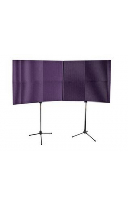 "MAX-WALL 420 PURPLE - MAX-Wall Series Portable Acoustric Treatment (4 - 20""x48"" panels, Purple)"