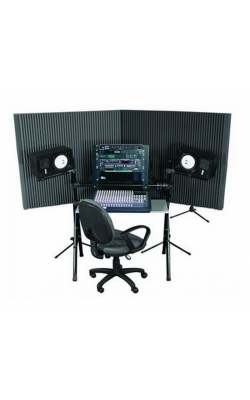 "MAX420CHA - MAX-Wall Series Portable Acoustric Treatment (4 - 20""x48"" panels, Charcoal)"