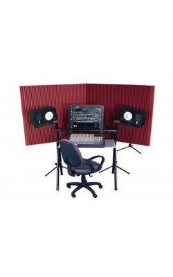 "MAX420BUR - MAX-Wall Series Portable Acoustric Treatment (4 - 20""x48"" panels, Burgundy)"