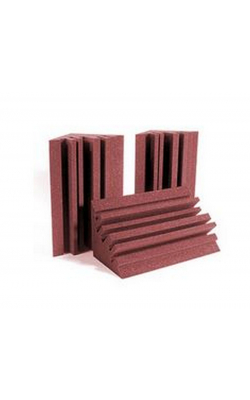 METROLENBUR - MetroLENRD Series Bass Traps (8-pack, Burgundy)