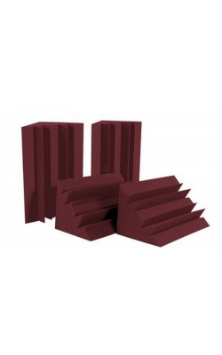 LENBUR_HP - LENRD Series Bass Traps (4-pack, Burgundy)