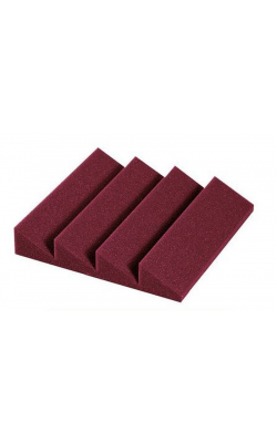 "2"" DST-114 BURGUNDY - Designer Series Treatment Studiofoam 114 Series (24-pack, 1'x1'x2"", Burgundy)"