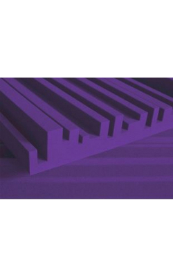 "4METROPUR - 4"" Studiofoam Metro Mid-High Absorber (6-pack, 2'x4'x4"", Purple)"