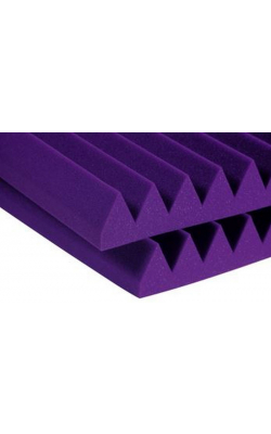 "3SF24PUR - 3"" Studiofoam Wedges (8-pack, 2'x4'x3"", Purple)"