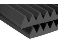 "3SF24CHA - 3"" Studiofoam Wedges (8-pack, 2'x4'x3"", Charcoal)"