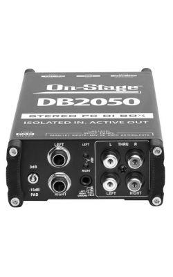DB2050 - Active Stereo Multi-Media DI Box