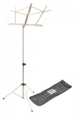 SM7122NB - Compact Sheet Music Stand (Nickel, w/ Bag)