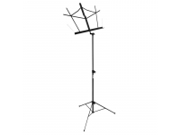 SM7122B - Compact Sheet Music Stand (Black)