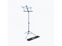 SM7122DBB - Compact Sheet Music Stand (Dark Blue, with Bag)