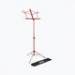 Compact Sheet Music Stand (Red, W/ Bag)