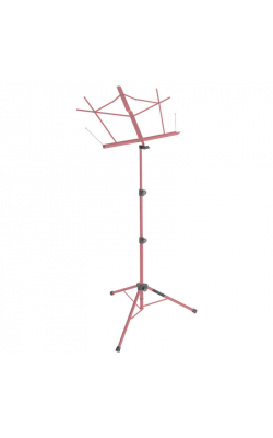 SM7122PKB - Compact Sheet Music Stand (Pink, w/ Bag)