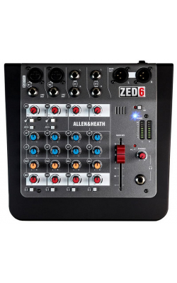 AH-ZED6 - 2 Mic/Line with Active DI, 2 Stereo Inputs, 2-band
