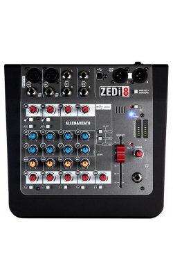 AH-ZEDI8 - 2 Mic/Line with Active DI 2 Stereo Inputs, 24/96kH