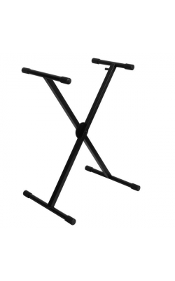 KS7290 - ERGO-LOK Single-X Keyboard Stand with Welded Construction