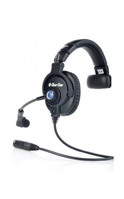 CC-300-X4 - Single-Ear Headset with XLR-4 Connector