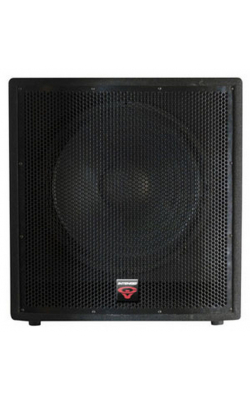 "INT-118SV2 - Intense Series Portable 18"" Passive Subwoofer"
