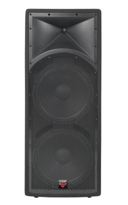 "INT-252V2 - Intense Series Portable Dual 15"" Quasi 3-Way Loudspeaker"
