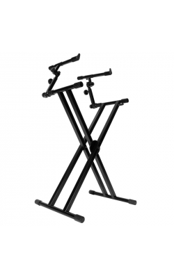 KS7292 - Double-X Ergo Lok Keyboard Stand with 2nd Tier