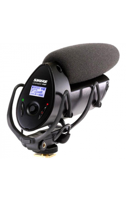 VP83F - Camera-mount shotgun microphone w/integrated flash