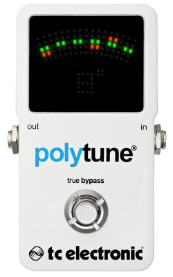 POLYTUNE 2 - Polyphonic Pedal Tuner with Strobe