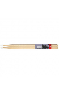 AMH2BN - American Made Hickory Drumsticks (2B, Nylon Tip)