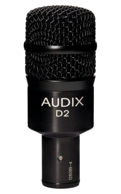 D2 - Dynamic Instrument Mic with Mib-Bass Boost