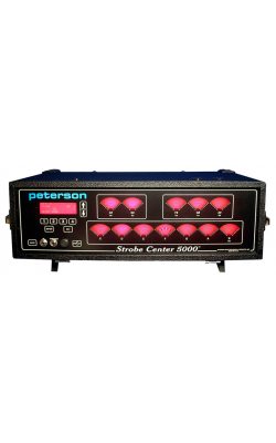 STROBE CENTER 5000 - 12-Window Strobe Tuner