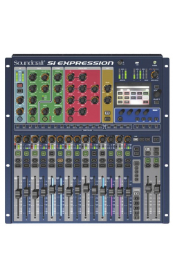 SI EXPRESSION 1 CON - Si Expression Series 20 Channel Digital Mixer