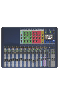 SI EXPRESSION 2 CON - Si Expression Series 28 Channel Digital Mixer