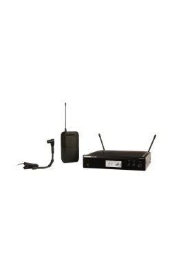 BLX14R/B98-J10 - BLX Series 1/2 Rack Instrument System with WB98H/C Mic (J10 Band, 584-608 MHz)