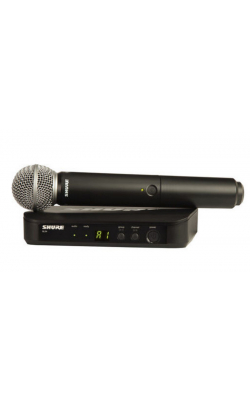 BLX24/SM58-J10 - BLX Series Handheld System with SM58 Mic (J10 Band, 584-608 MHz)