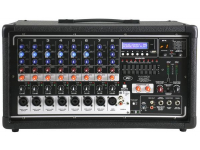PVI 8500 - PVi Series 8ch 400W Powered Mixer with USB and Bluetooth