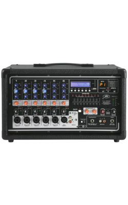 PVI 6500 - PVi Series 6ch 400W Powered Mixer with USB and Bluetooth
