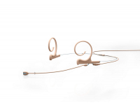 FIOF10-M2 - d:fine Series 1066 Dual-Ear Omni Headset Mic (Beige, Medium	90mm, TA4F for Shure)