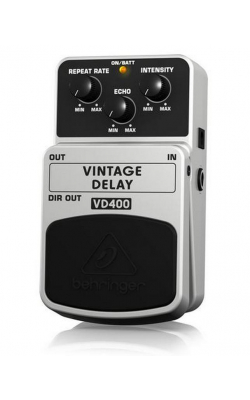 VD400 - Vintage Analog Delay Effects Pedal