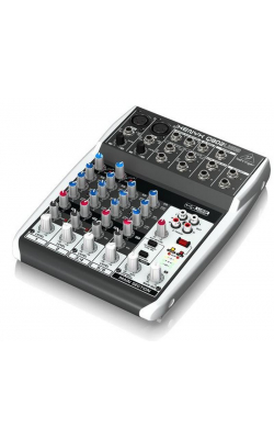 Q802USB - Premium 8-Input 2-Bus Mixer with XENYX Mic Preamps