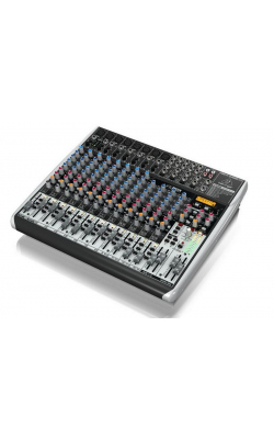 QX2222USB - Premium 22-Input 2/2-Bus Mixer with XENYX Mic Prea