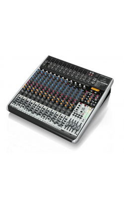 QX2442USB - Premium 24-Input 4/2-Bus Mixer with XENYX Mic Prea