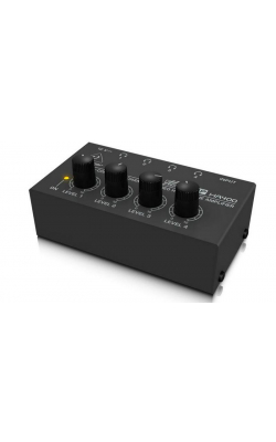 HA400 - Ultra-Compact 4-Channel Stereo Headphone Amplifier