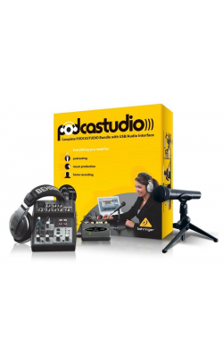 PODCASTUDIO USB - BEHRINGER PODCASTUDIOUSB