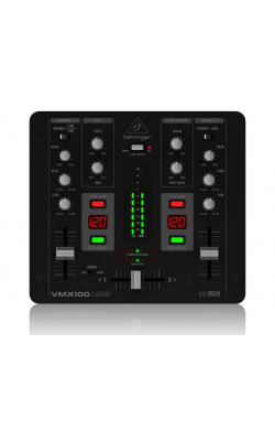 VMX100USB - Professional 2-Channel DJ Mixer with USB/Audio Int