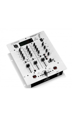 DX626 - Professional 3-Channel DJ Mixer with BPM Counter