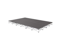 "ISTAGE1288T - 8"" High Stage System (12' x 8', Tuff Coat)"