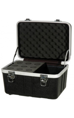 ABS-MC09C - ABS Series Microphone Case (9 space)