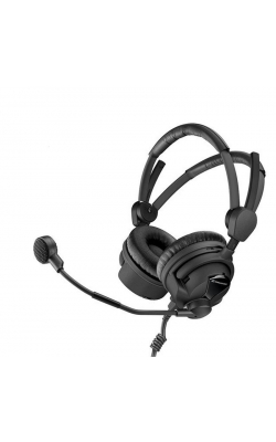 HMD 26-II-600 S-8 - Professional, single-sided boomset, 600 ohm impede