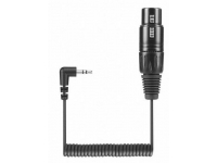 KA 600I - XLR-3 to a 3.5 mm smartphone connector cable for s