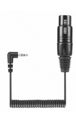 KA 600 I - XLR-3 to a 3.5 mm smartphone connector cable for s